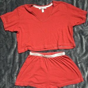 Victoria's Secret Pajama short set